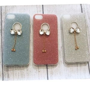 🛍SALE🛍 IPhone 7 Luxury Crystal Bow Glitter Case